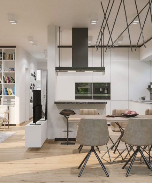 Villa 5 Grandiflora - Küche / Essbereich