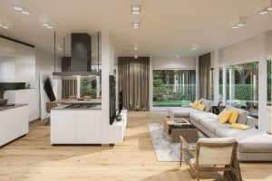 Villa 5 Grandiflora - Wohn/Küchebereich 1